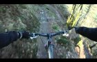 Gorlech Trail Final Descent. Brechfa. GoPro HD. MTB Trails