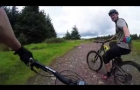 Glentress play day gopro gimbal and mud