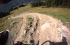 Cachettes downhill, Les Arcs, August 2010