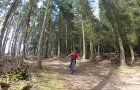 Mountain Biking at Glentress on Falla Brae Black