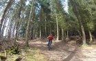 Mountain Biking at Glentress on Falla Brae Black