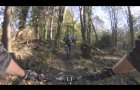 Mountain Biking in Castlewellan, Moorish Return Red Trail GoPro HD