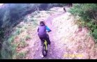 Kids Mountain Biking on the Rostrevor Trails