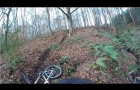 CHOPWELL WOODS NEW BLACK TRAIL WITH A CRASH !!!