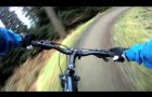 Glentress, Spooky Woods, 30th Jan 2011, Part 1, GoPro HD,
