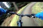 Glentress, Spooky Woods, 30th Jan 2011, Part 1, GoPro HD,