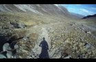 Mountain Biking high up in Torridon Mountains, Scotland