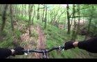 Quantock Hills. Frog Combe Descent. MTB Trails. GoPro HD