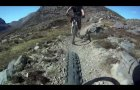 Mountain Biking in Torridon Mountains, descent to Glen Carron
