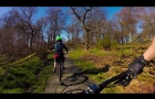 Cathkin Braes XC MTB course in 4K with WGS gimbal
