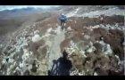 Mountain Biking on a high route in the Torridon Mountains, Scotland