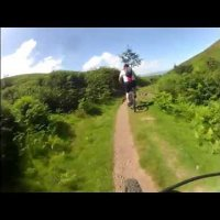 Mountain Biking on The Quantocks.