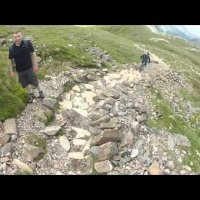 Styhead Gill and Stakes Pass Mtb Aceness!