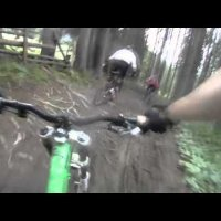 Bike Park Wagrain Chest Cam Ride by downhill-rangers.com