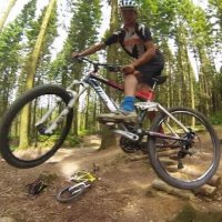 Cann wood mtb trail