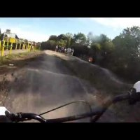 Pump track gopro chest cam