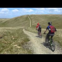 Mountain Biking, The Howgill Fells, What's it like? June 2013