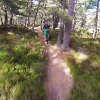 Sweet descent down Lairig Ghru, Cairngorm