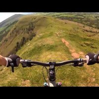 RIDGE RIDE - Brecon Beacons | GoPro Chest Mount MTB